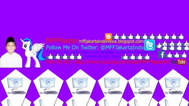 MFFALAH YOUTUBE CHANNEL ART This Completed by MFFMasterYTPMV