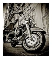 Harley Davidson Road King BW by dufour-l