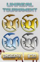 Unreal Tournament Icon Pack by bfrheostat