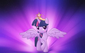 MLP Twilight Sparkle Wallpaper by DaChosta