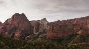 Pano Of Red Rock by mjohanson