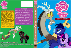 MLP LyokoIsMagic BestofDiscord DVD Cover by SuperDigiFlow
