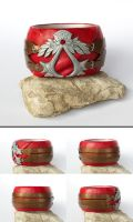 Assassin's Creed - Ezio cuff 1 by tishaia