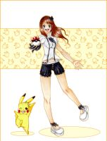 Go Pikachu DX -commission- by J-J-Joker