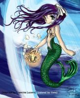 Colored-Mermaid by tommychan