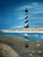 Llighthouse by jfkpaint
