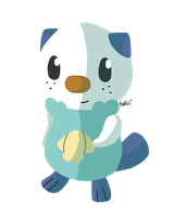 Oshawott by Lightybug