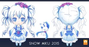 Snow Miku 2015 - Contest entry by ArtMyouki
