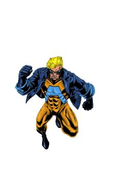 Animal Man By Kyle Vanhove and color by Miguel Rud by miguelrude