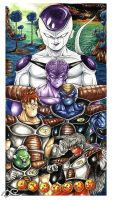 Ginyu Force by Fluorescentteddy