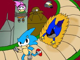 Sonic Generations:Sonic CD by jules1998