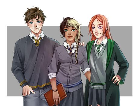 Harry potter commisssion by Yakina