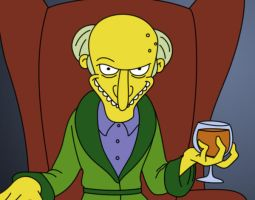 Mr. Burns by od1e