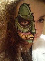 Halloween face more detailed (2/2) by CandyNapkin