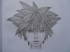 Sora - Kingdom Hearts ( Mark Crilley fan art) by LiammailArt