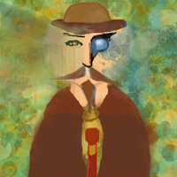 Time Keeper With Muro's new brushes by Poorartman
