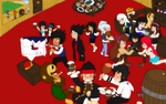 one piece party!!! by triptime245