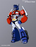 WEEK 4 Gen 1 Optimus Prime by KrisSmithDW