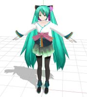 DIVA magnet Miku WIP1 by 913901622