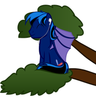 (requested)Masterkill Listening To Music In A Tree by kuren247