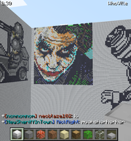Minecraft-The Joker by ApatheticApogee