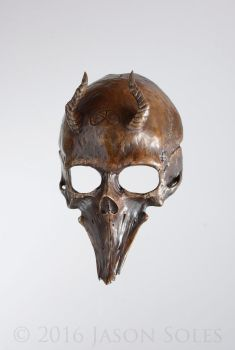 Bronze Leviathan Cross Mask by MrSoles