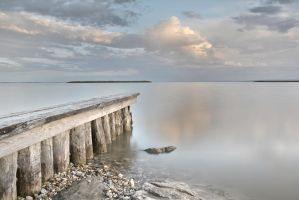 Lake Neusiedl by BeatrixW