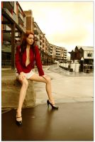 Kathryn - wharf red 1 by wildplaces