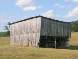 Very Square Old Barn by StockChroma