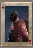 TF2 Poker Pyro by biggreenpepper