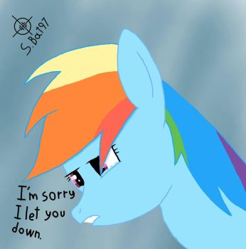 You have let me down for the last time!!! by Sniperbat97