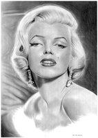 Marilyn Monroe by donchild