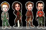 Firefly Magnets by vandonovan
