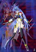 Another KOS-MOS XD by Xenosnake