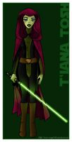 Mirialan Jedi by ava-angel
