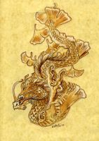 Ginko Dragon by Hbruton