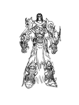 Death's Abyssal Armor Redesign Concept #1 by FanofDante