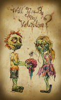 Will you be my Valentine? by AlmostButNotQuite