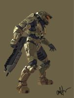 Master Chief by C-Dizzle