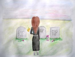 Goodbye - Watercolour by clarearies13