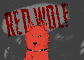 .:AT:. Red Wolf by snowpups123