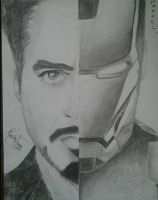 Ironman Face by LacieAnarchy
