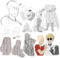 Here, have some saigenos and tiny saitamas by NinjaKRockie5652