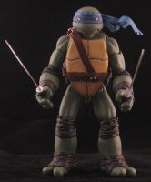 Leonardo - Ross Campbell style TMNT by plasticplayhouse