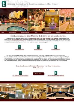 Embassy Suites Catering Page by firefall