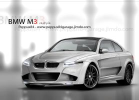 m3 coupe restyle-peppus84 by peppus84
