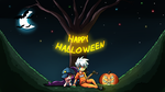 Halloween Wallpaper 2015 by ArcticFox223