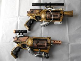 steam punk nurf guns 1 by Julesjustjules