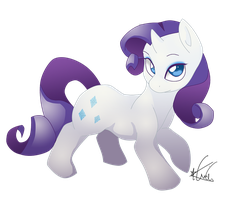 Mane Six Rarity by ToLoveaKiwi