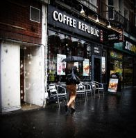 wet coffee by awjay